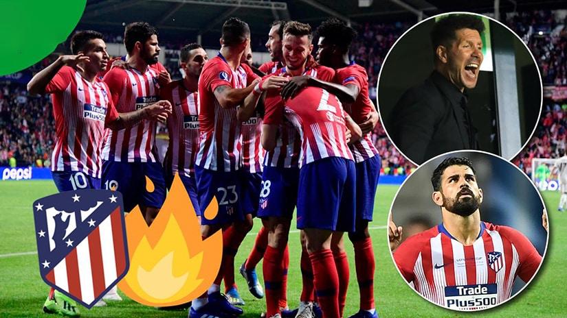 atletico madrid against real madrid