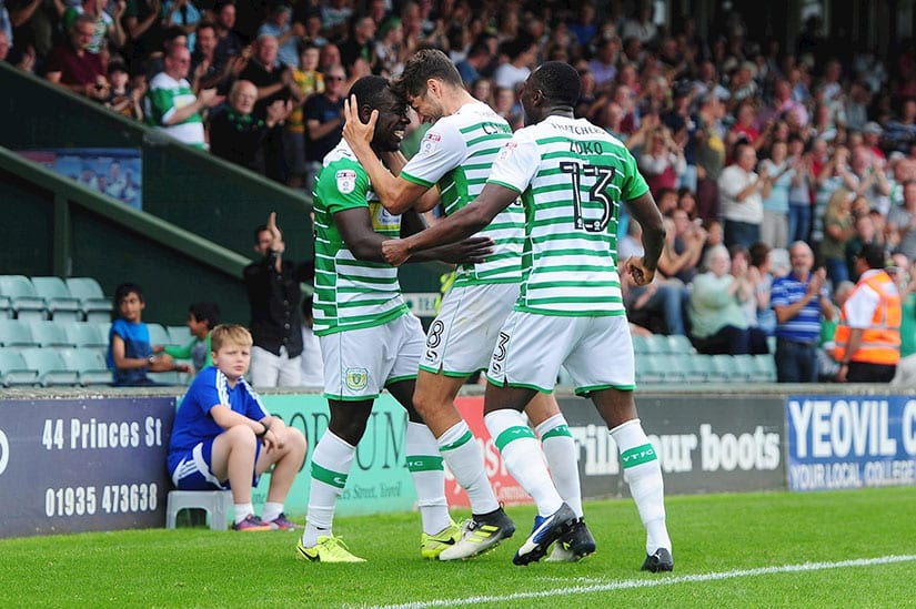 yeovil town vs exeter city 2018