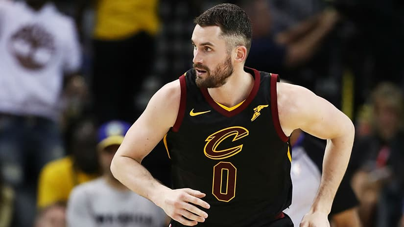 Kevin Love ready to be no one in Cavs