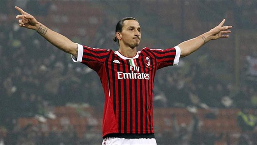 Zlatan Ibrahimovic back to Milan